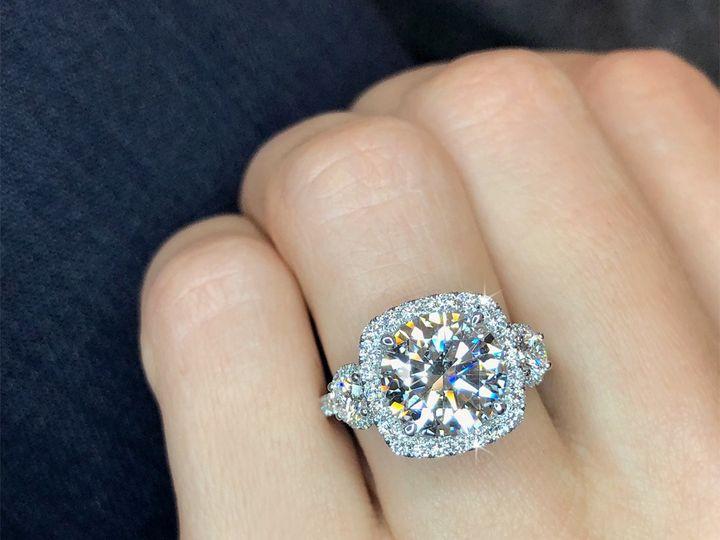 Tmx Cushion Cut Halo Round Diamond Engagement Ring Custom Design Ascot Diamonds 51 187353 1559080124 Addison, TX wedding jewelry