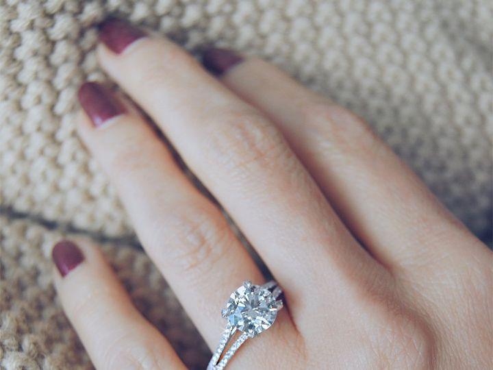 Tmx Split Diamond Band Engagement Ring Solitaire By Ascot Diamonds 51 187353 Addison, TX wedding jewelry