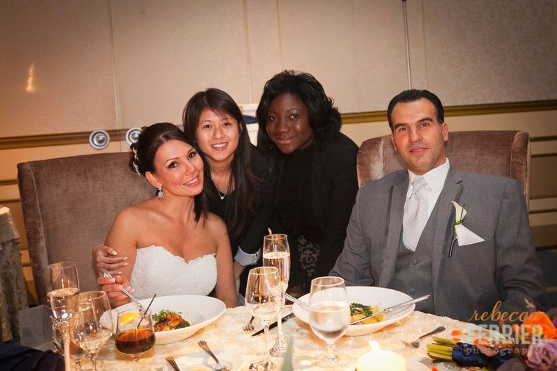 Utterly Elegant Wedding planners and coordinators with couple