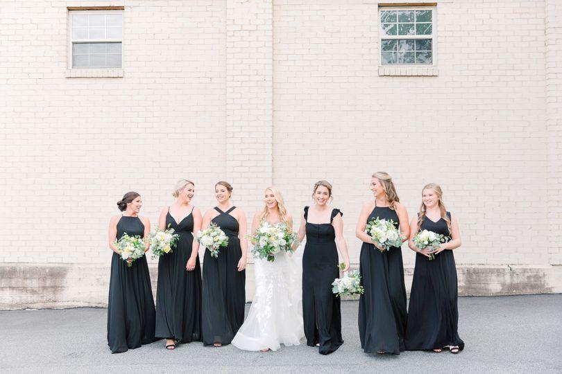 Bridesmaids in Marietta