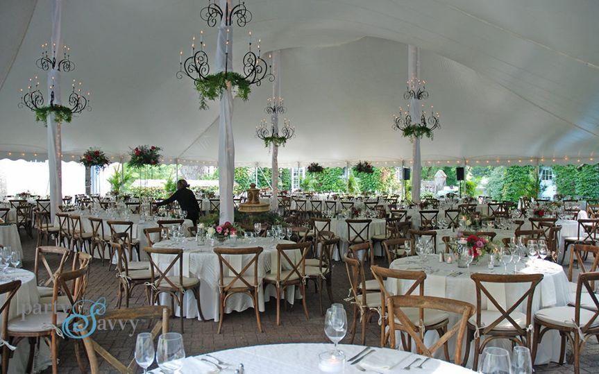 Rustic Glam Tented Wedding