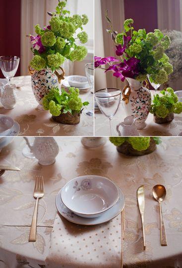 vintage wedding reception decor wedding flower cen