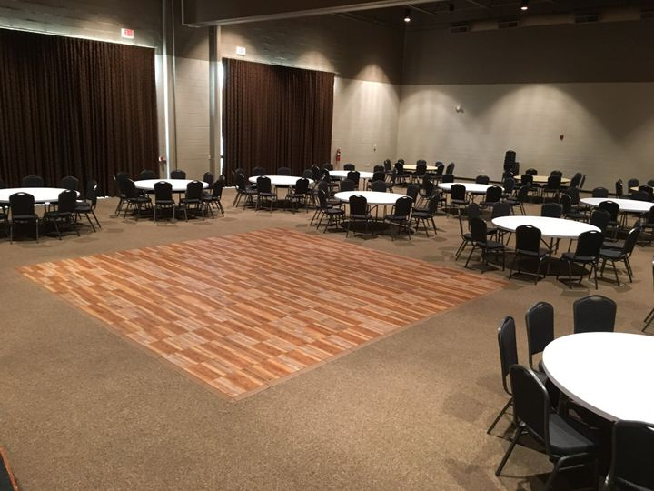 Banquet Hall with Dance Floor