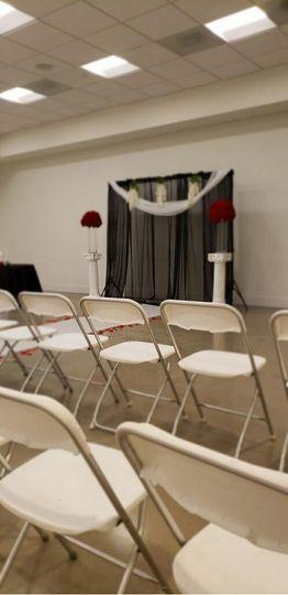 Customizable Ceremony Set Up