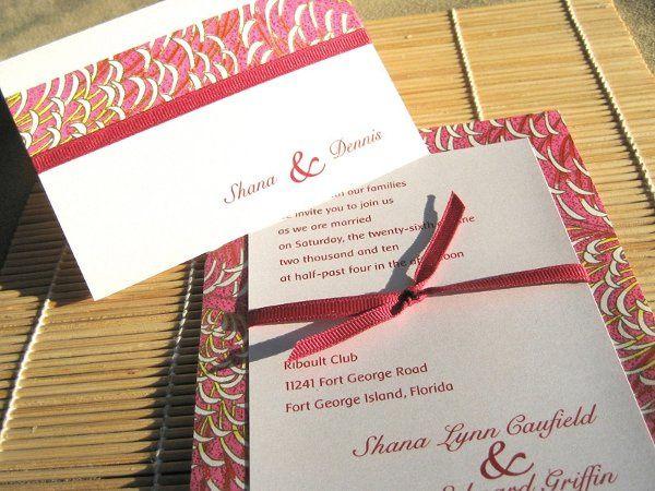 Tmx 1226886879786 Invite1c Sharpes, FL wedding invitation