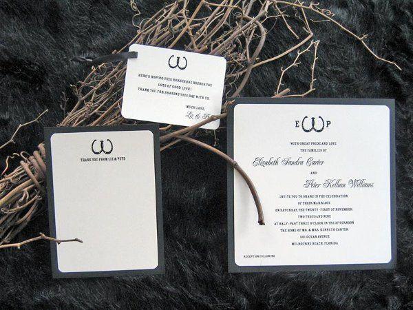 Tmx 1248760760775 Invite15b Sharpes, FL wedding invitation