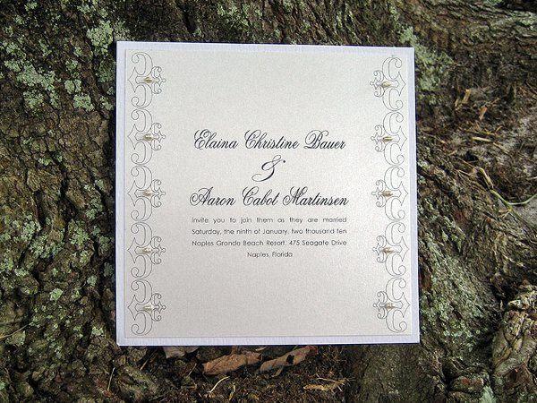 Tmx 1284745021857 Invite17 Sharpes, FL wedding invitation