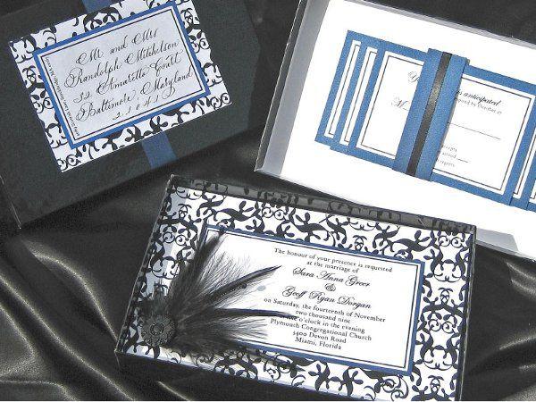 Tmx 1291316501911 Invite21 Sharpes, FL wedding invitation