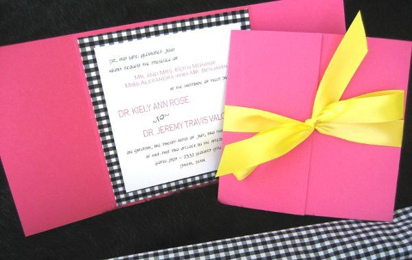 Tmx 1301678761567 BWGinghaminvite Sharpes, FL wedding invitation