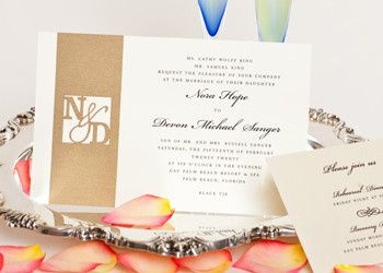 Wedding Style W-5002 is an elegant two layer invitation. What makes this design so special is the...