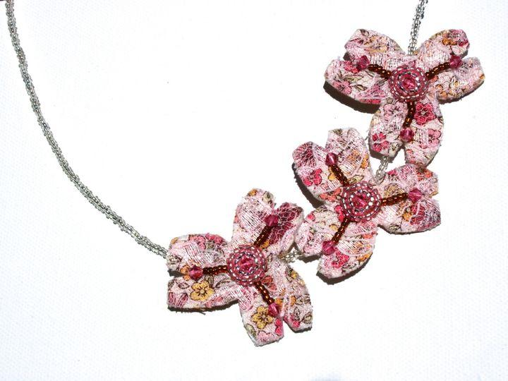 Tmx 1398806789711 Dogwood Necklac Wynnewood wedding jewelry