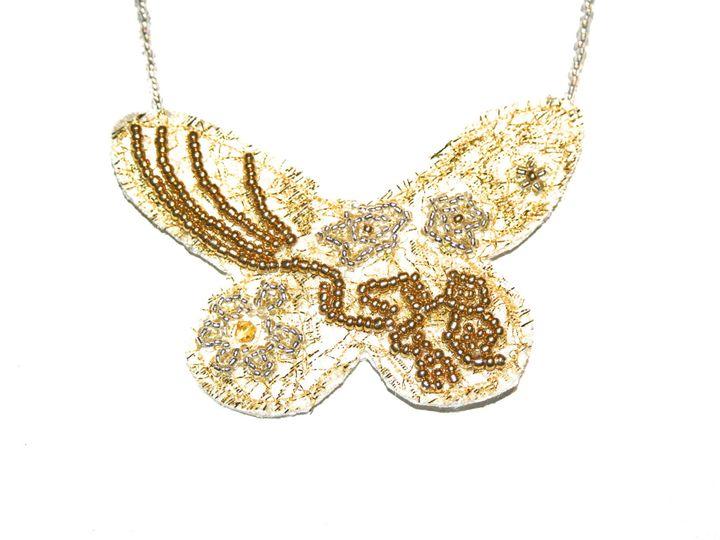Tmx 1398806906755 Gold Butterfl Wynnewood wedding jewelry