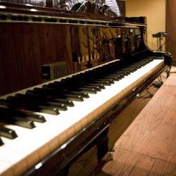 Piano at Wedding Studio