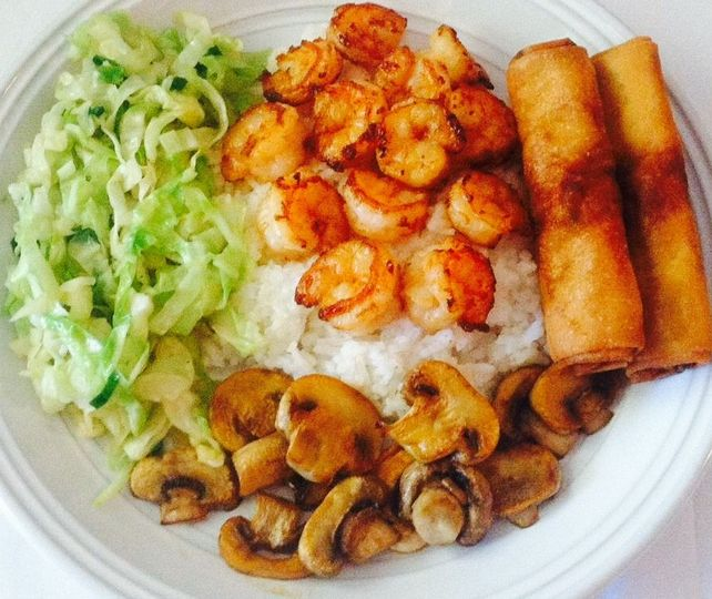 Sauteed Shrimp or Chicken Shrimp or Chicken, Sauteed with either Mushrooms, Cabbage or Asparagus,...