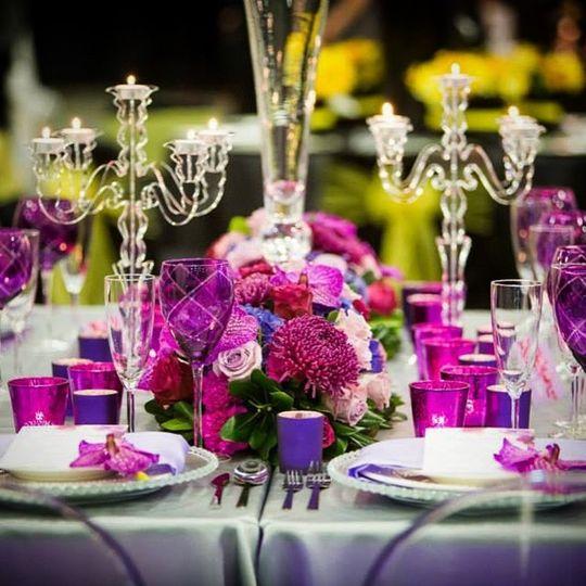 Tables centerpieces