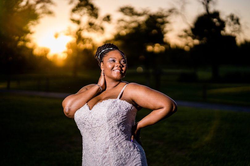 Bride admiration
