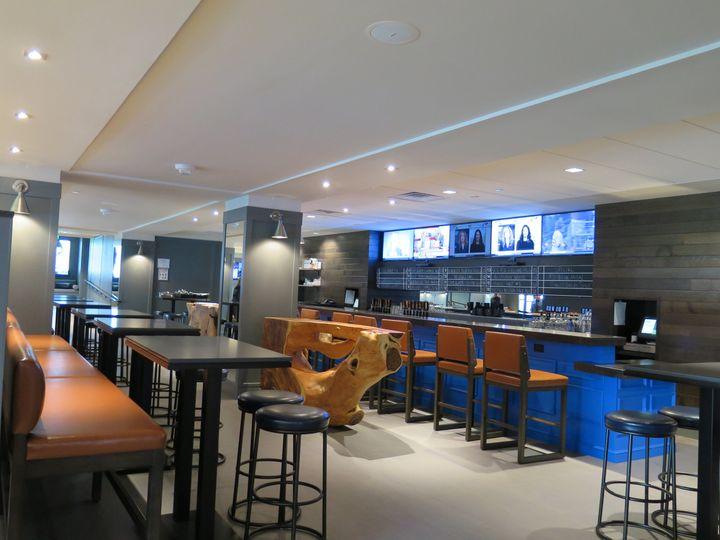 vanderbilts renovated bar area