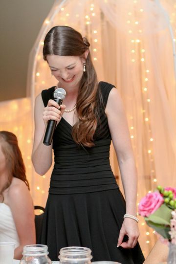 Music at my sister's wedding