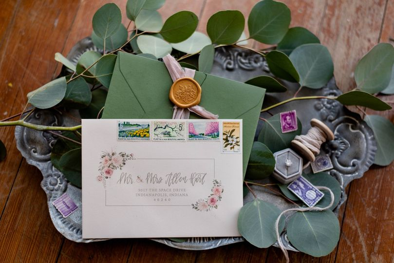 Wedding stationery (Perfect Prints Photography)
