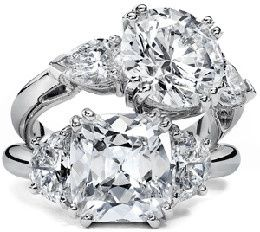 diamond ring stack