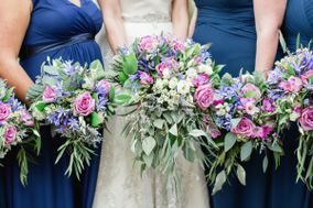 Lace and Peonies Floral Design