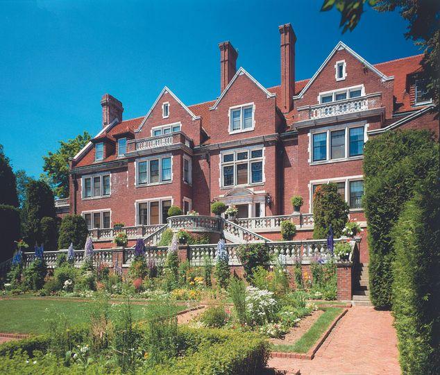 Glensheen Mansion, located on Lake Superior.