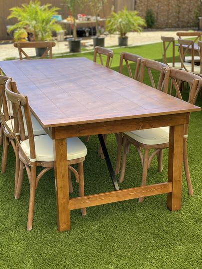 Farm table rentals available