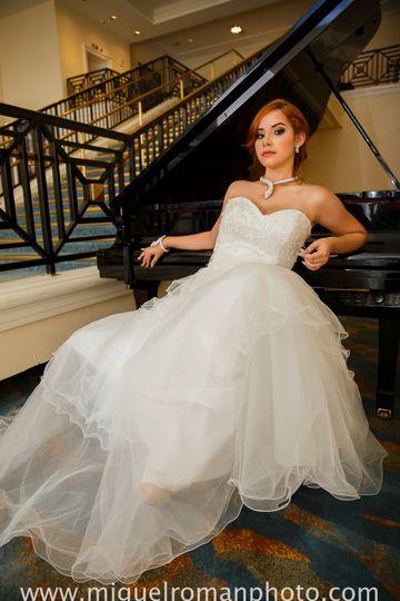 fotos de novias en el marriott hotel en san juan p