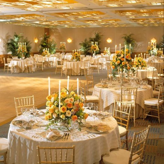 Charles Hotel Ballroom - Wedding Reception