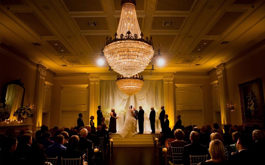 Ceremony uplighting