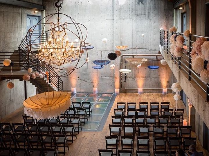 Tmx Peach Color Uplights In Fremont Foundry 51 946553 158113165286200 Seattle wedding dj