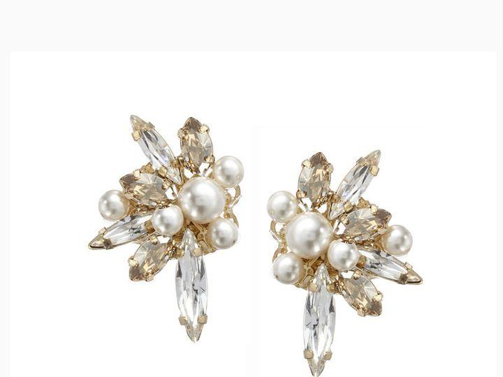 Tmx 1456850165849 Starlite Stud Gold Portland wedding jewelry