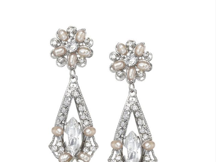 Tmx 1456850258901 Anniedropearring Portland wedding jewelry