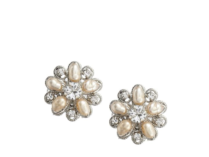Tmx 1456850316402 Blush Stud Silver Earring Portland wedding jewelry