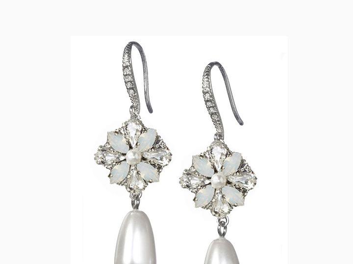 Tmx 1456850393004 Della Pearl Drop  Portland wedding jewelry