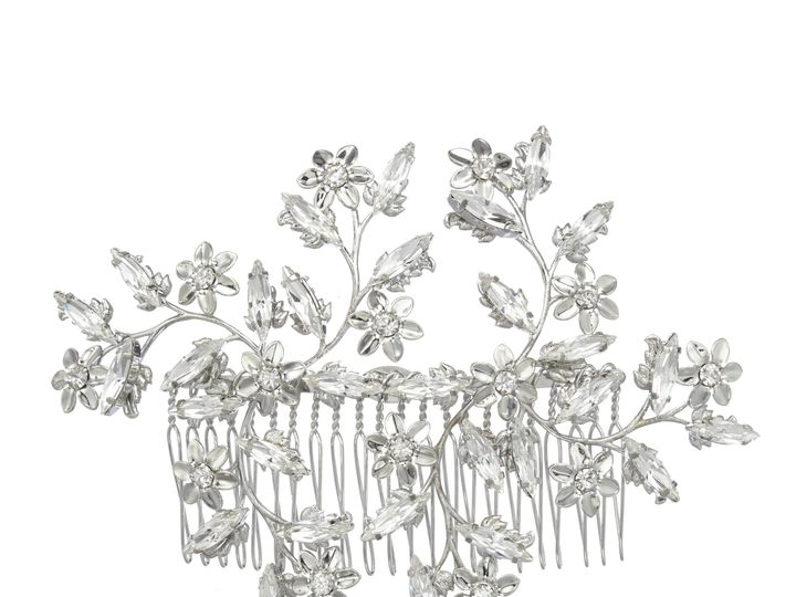 Tmx 1456850474223 Garland Comb Silver Portland wedding jewelry