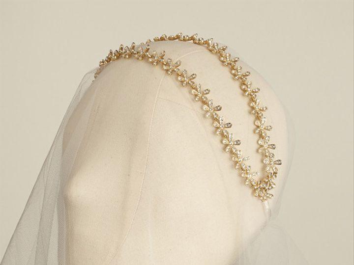 Tmx 1456850573620 Lula Double Band Gold Portland wedding jewelry