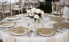 Tmx Chargers Table Setting Elegant Decorate My Wedding Silver Charger Plate Crystal Table Of Chargers Table Setting 1 51 1047553 Murrieta, CA wedding rental