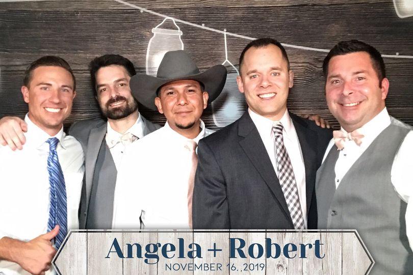Fun at Angela and Robert's
