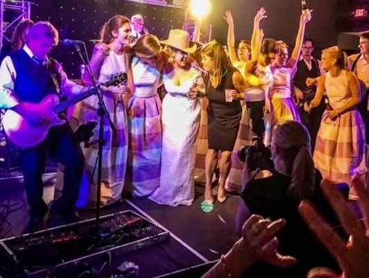 Best Day of my Life is a song we play with Bridal Party onstage!