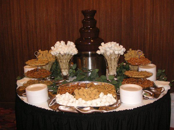 Chocolate Fondue Fountains by Desert Music Entertainment DJs and Videography