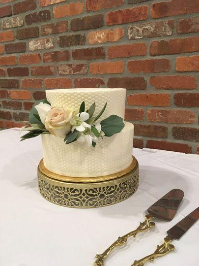 Reverie wedding cake