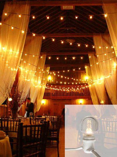 led globe string light rental