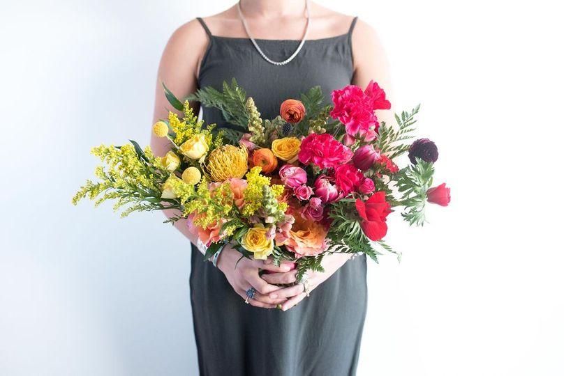 Pecan palette: luxe bouquet