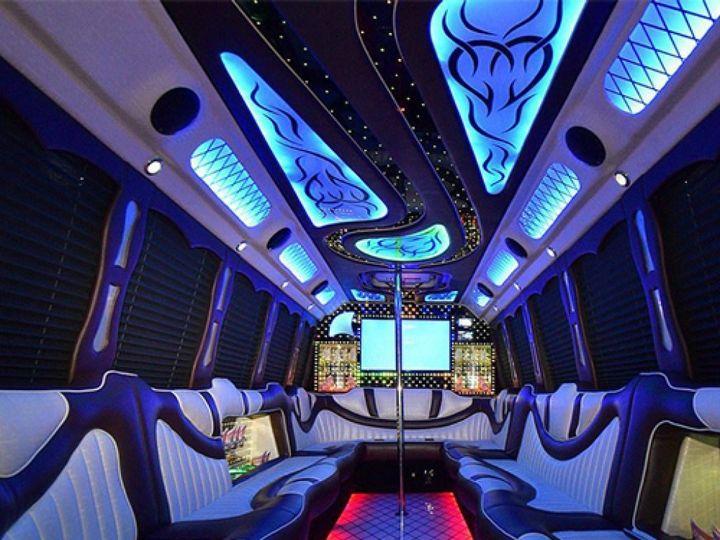 Tmx 1513152429019 24passengerlimosalivewithoutside 1024x1024 Plainfield wedding transportation