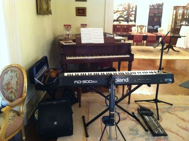 Brockington Hall wedding venue.   I was performing as a demonstration for other vendors.   Both...