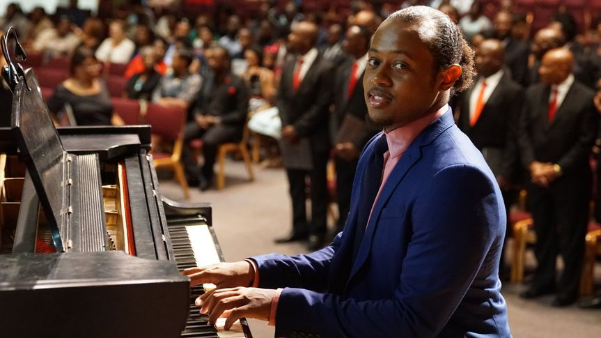 Pianist Assel Jean-Pierre