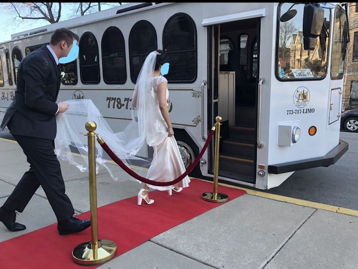 Trolley Red Carpet