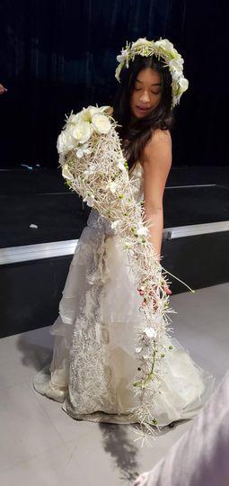 Very Elegant Brides Bouquet