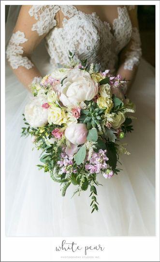 Little white florist flowers holbrook ny weddingwire little white florist bridesmaids bouquet mightylinksfo